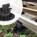 Wovar Verstelbare terrasdrager 6-14 cm balkdragers voor vlonders