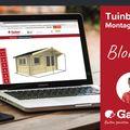 Tuinbezoek Montageservice - Blokhut Gadero