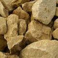 Gaas Breuksteen Geel 100 - 300 mm Keien Natuursteen 950 kg big bag