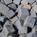 Gaas Turks Basalt Antraciet 80 - 110 mm Keien Natuursteen 950 kg big bag