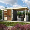 Tuinhuis Askola 2 Terragrijs Sfeer