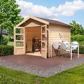 Cabane de jardin Tastrup 7 Karibu 304 x 304 x 252 cm