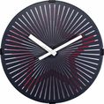 NeXtime Wandklok Motion Star Red
