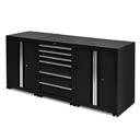 Werkplaatskasten set PRO XL - Zwart 2