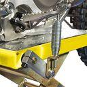 MX liften voor Suzuki crossmotoren geel