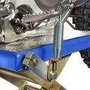 MX-bok voor Yamaha crossmotoren blauw