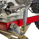 MX-bok voor Honda crossmotoren rood