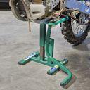 MX liften voor Suzuki crossmotoren groen