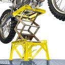 Crosslift voor Suzuki crossmotoren gele