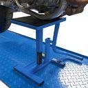trapbok voor Yamaha crossmotoren blauwe