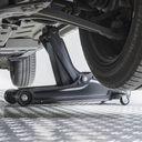 Krik voor sportauto's onder de verlaagde auto