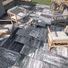 Paved terrastegels Stuttgart 80x40x5cm asgrijs