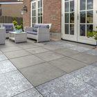 Terrastegel Optimum Liscio Silver 60 x 60 x 4 cm Excluton - Populair