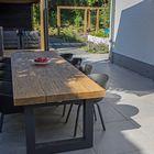 Keramische terrastegel Ceramiton 80x80x3cm Star Grey Tuinvisie
