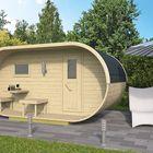 Oval Sauna sfeer