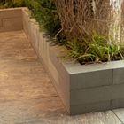 Stapelblokken tuin linia 12x12x60cm grijs