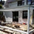 aluminium onderbalk voor wanden