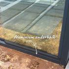aluminium onderbalk