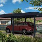 aluminium carport met plat dak Gardendreams