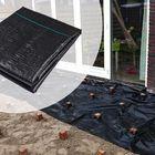 Anti worteldoek 210 cm breed Gronddoek voor onder vlonder of voor split/grind