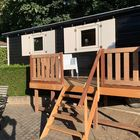 Hartholz Konstruktionsbalken für erhöhte Terrasse - Kundenfoto