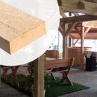 Balk Eiken hout 5 x 15 cm Fijnbezaagd