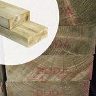 Balk Geïmpregneerd hout 7 x 17 cm glad geschaafd