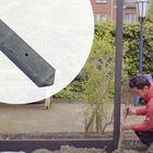 Betonpaal Lek Light Antraciet 7.5 x 7.5 x 280 cm Lichtgewicht betonnen schuttingpaal