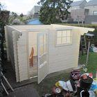 Aufbau Gartenhaus Bjorn