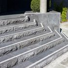 Natuursteen traptreden gekloofd bluestone 100x35x15cm