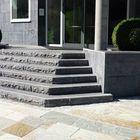 Traptreden natuursteen gekloofd 100x35x15cm Michel Oprey