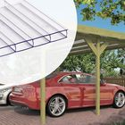 Doppelcarport - Lichtdurchlässige Kunststoff Dachplatten