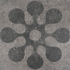 Printtegel Designo Dianthus 60 x 60 x 3 cm Lichtgrijs Gardenlux