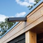 Waterafvoer overkapping plat dak
