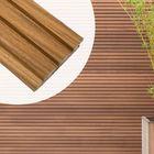 Fassadendiele-Dreifach-Trapezprofil-Thermoholz-Ayous-Abachi-25-x-145-mm-Nut-und-Feder