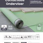 Ondervloer Contactloos PU Rubber Parket & Laminaat - Contact Geluidreductie & Vloerverwarming 8 m2 Product informatie