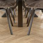 Floer Visgraat PVC Vloeren - Onbehandeld Eiken Vloer Licht Bruin 60 x 12 cm Sfeer 3