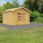 Cabane de jardin Tastrup 7 Karibu - Porte sur face latérale