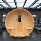 Camping barrel - tuinkantoor