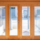 Blokhut Olaug ramen en deuren