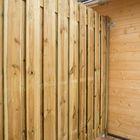 Tuinscherm Geïmpregneerd hout Topper 180 cm