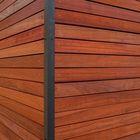 Details Luxe Rhombus Padoek Hardhout 18 x 68 mm glad geschaafd