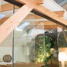 Glazen schuifdeur 6-delig breedte 578 cm