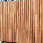Plank voor schutting Smal Ipe Hardhout 1.9 x 9 cm Glad Geschaafd