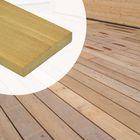 Terrassendiele Garapa Hartholz 2,5 x 14,5 x 90-245 cm glatt