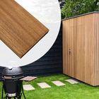 Gevelbekleding Thermisch gemodificeerd Ayous planken 1.8 x 5.2 cm Rondom Glad geschaafd rechtvormig