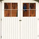 Glucksburg 3 zandbeige met overkapping deur