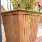 Hardhouten Plantenbak Taps 67 x 67 x 62 cm Prefab