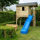 Glijbaan blauw voor speelhuisje