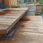 Steiger van terrasplank Ipé hardhout